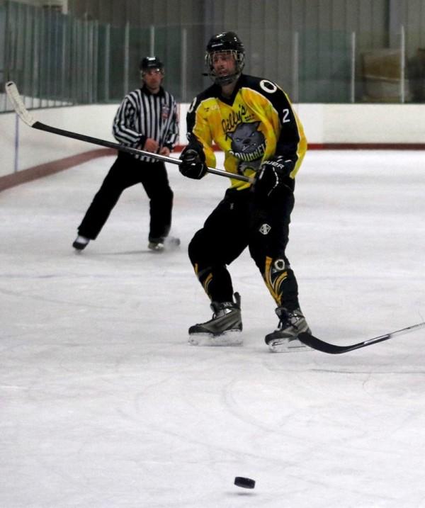 Tony Richelsen celebrated his 34th birthday on the ice. (Howard Sumner)